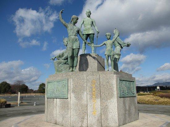 歴史公園鞠智城, 百済の貴族と 防人