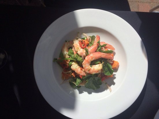 Catalonia Restaurant : Beautiful prawn salad I ate today