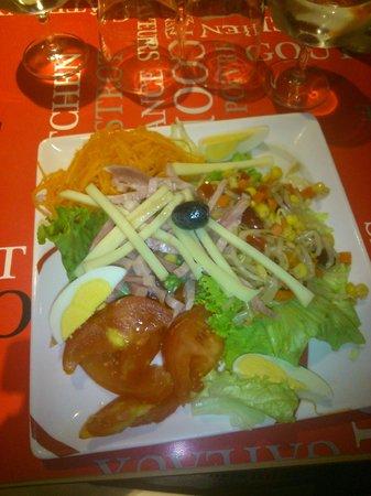 Hotel Arcades : La salade composée