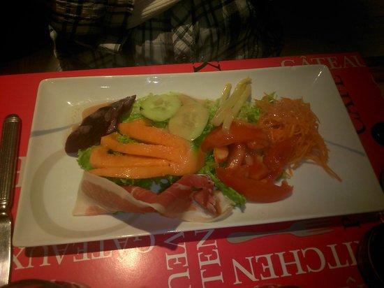 Hotel Arcades : La salade frâicheur