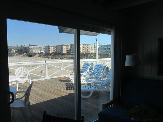 Crystal Pier Hotel & Cottages: vista desde la habitacion