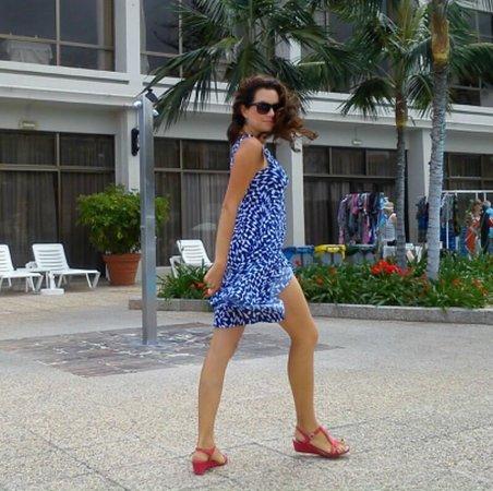 Hotel El Tope: Karolina's fashion show