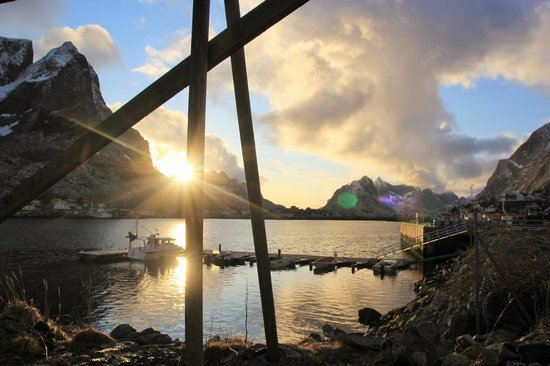 Reine Rorbuer - by Classic Norway : tramonto