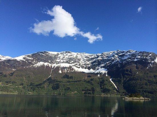 Nes Gard : Sognefjorden.