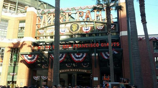 AT&T Park : The home of the SF Giants