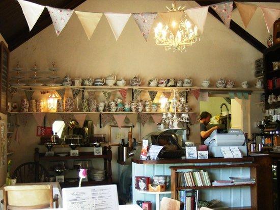 Worth Matravers Tea and Supper Room: Tea room