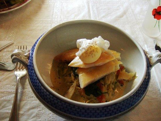 Worth Matravers Tea and Supper Room: Smoked Haddock
