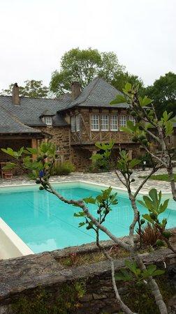 Château de Longcol : Vue de la terrasse