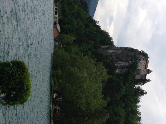 Best Western Premier Hotel Slon: Castle at Lake Bled