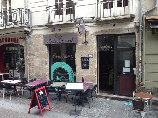 Foto de l 39 atelier gourmand nantes fa ade et terasse tripadvisor - Location atelier nantes ...