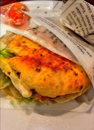 Gure Toki : Mini kebab de pollo. ¡Riquísimo!
