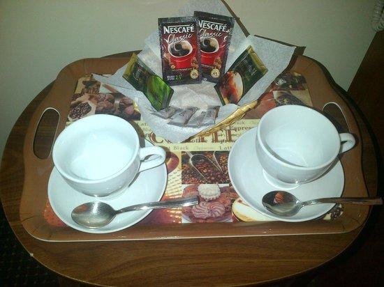 Forum Hotel: Чайный набор