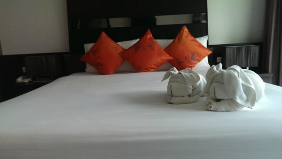 Ananta Burin Resort : Bed