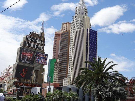New York - New York Hotel and Casino: Vue générale