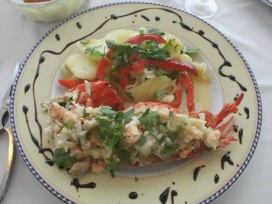 La Marisma: Lobster
