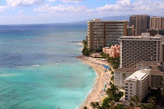 Aston Waikiki Beach Tower: View from our balcony