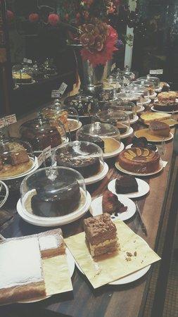 China House: Variety of cakes.