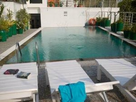 Hotel Taj Resorts: Rooftop pool