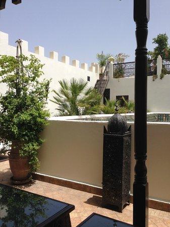 Riad Assakina : Roof terrace