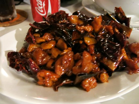 The Kelong Seafood Restaurant: gongbao chicken