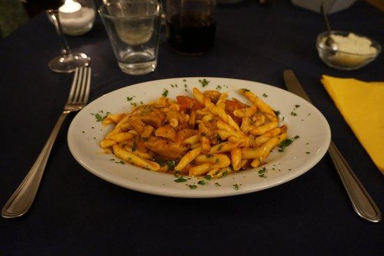 Quattro Gatti: Pasta with salted pork meat