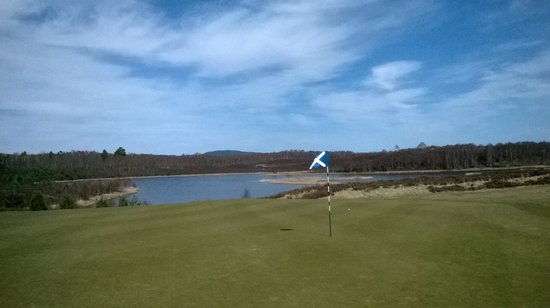 Macdonald Spey Valley Championship Golf Course : One of the lochs