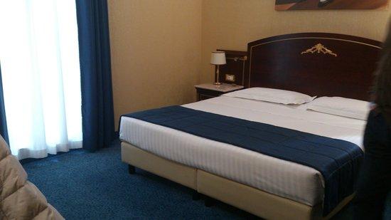 Nuestra habitación en el Hotel Mondiale