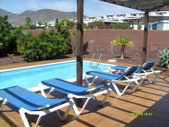 Las Marinas Villas: Our private pool