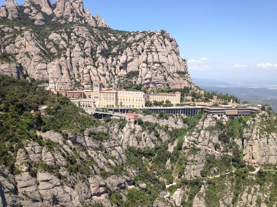 Barcelona Turisme - Afternoon in Montserrat Tour: A view from mountain top