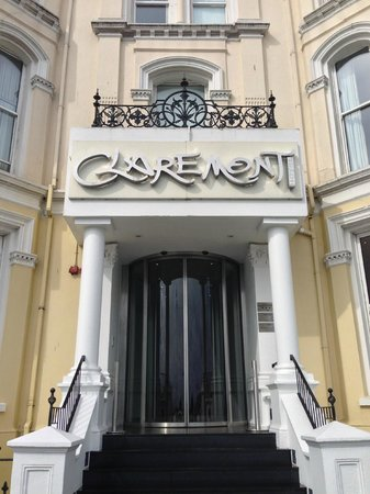 The Claremont Hotel: Main Entrance