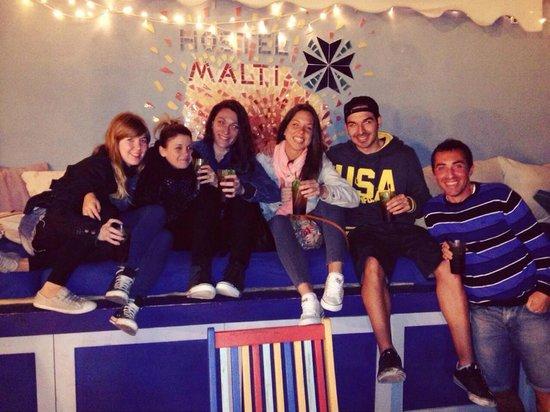 Hostel Malti: Roof