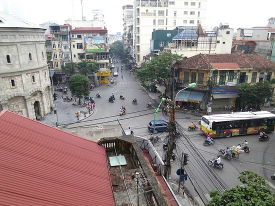 Minh Anh Hotel: view from room