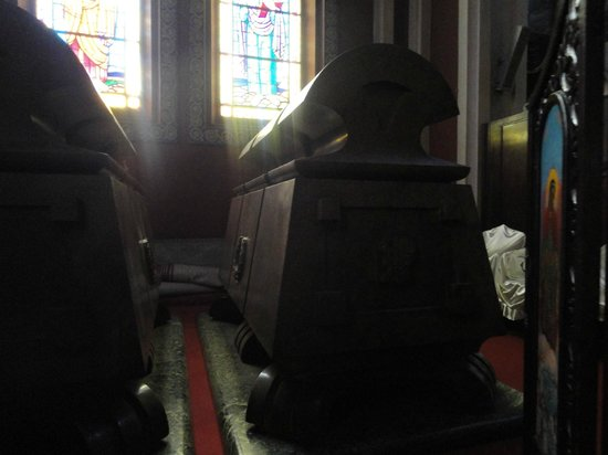 Holy Trinity Cathedral: Haille Selasse's tomb