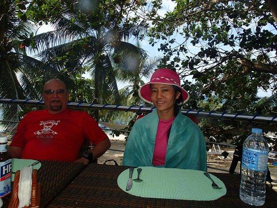 Oscar's Bar and Restaurant Malapascua: Nice View