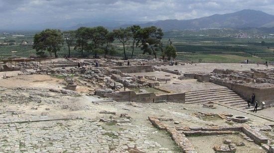 Phaistos (Phaestos): veduta generale