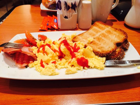 Menlo Park Hotel: Irish breakfast