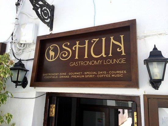 OSHUN Gastronomy Lounge: OSHUN - entrance