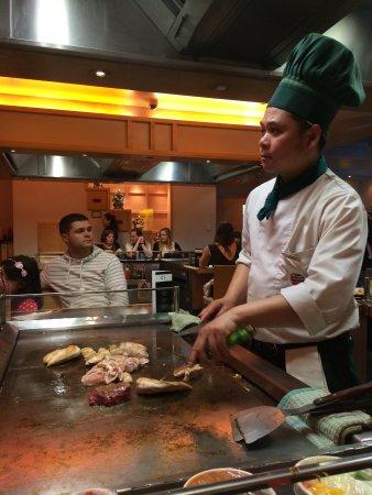 Sapporo Teppanyaki - Manchester: Chef