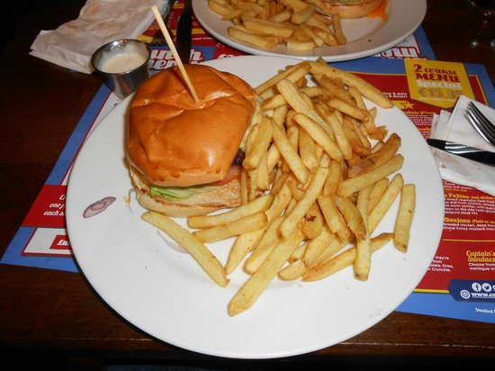 Captain Americas: Las hamburguesas