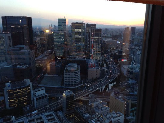 Mandarin Oriental, Tokyo: Tokyo at dusk, as seen from the room