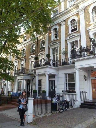 Inverness Terrace Serviced Apartments: el exterior del apartamento