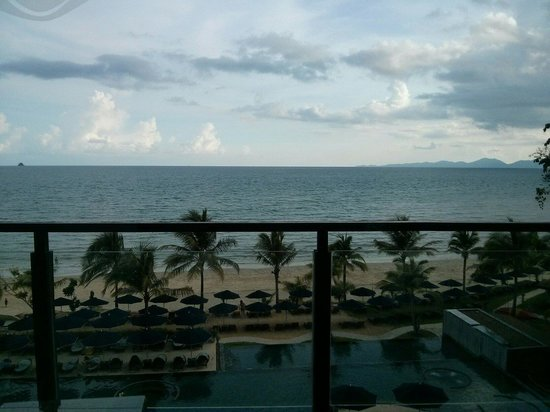 Beyond Resort Krabi: The view from our room