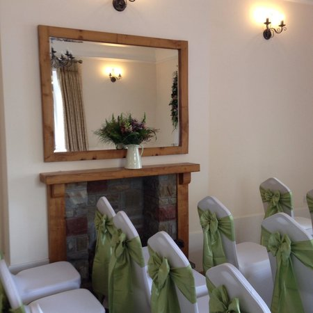 Caer Llan: The ceremony space