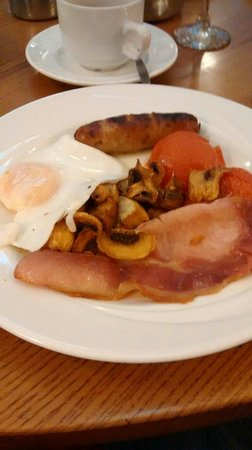 George Hotel Glossop: Good English breakfast