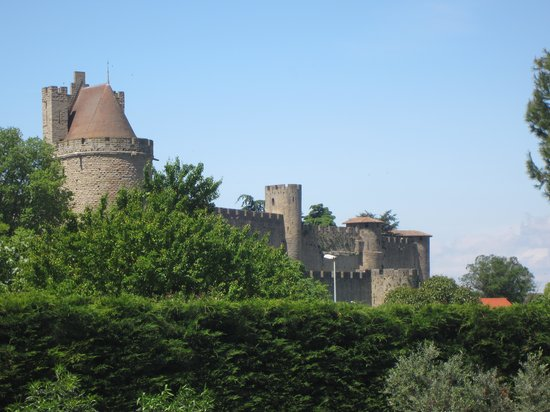 Mercure Carcassonne La Cite Hotel: View from Hotel