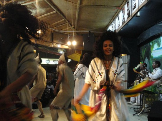Yod Abyssinia Traditional Food : Dancing