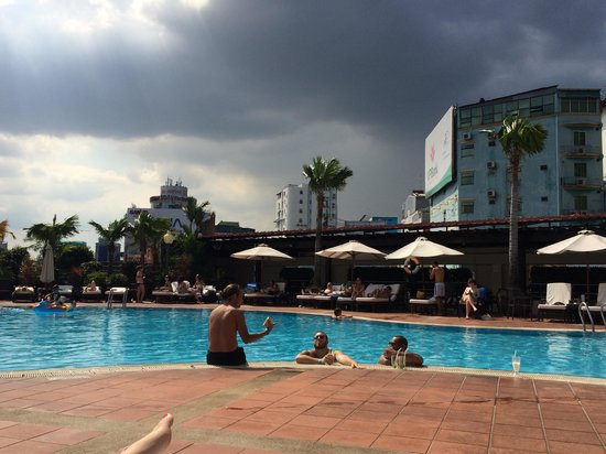 Saigon soul pool party, great time had by all.