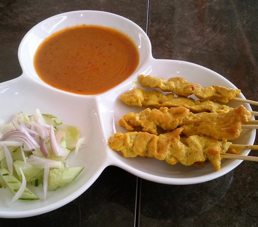 Laos Haven Hotel: Satay