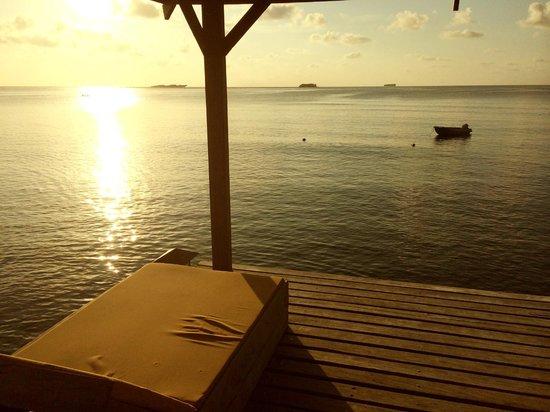 Siargao Paraiso Resort: sunset