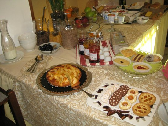 Hotel Bagliori : Breakfast